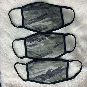 MASK! NEW Camo faded filter pocket mask